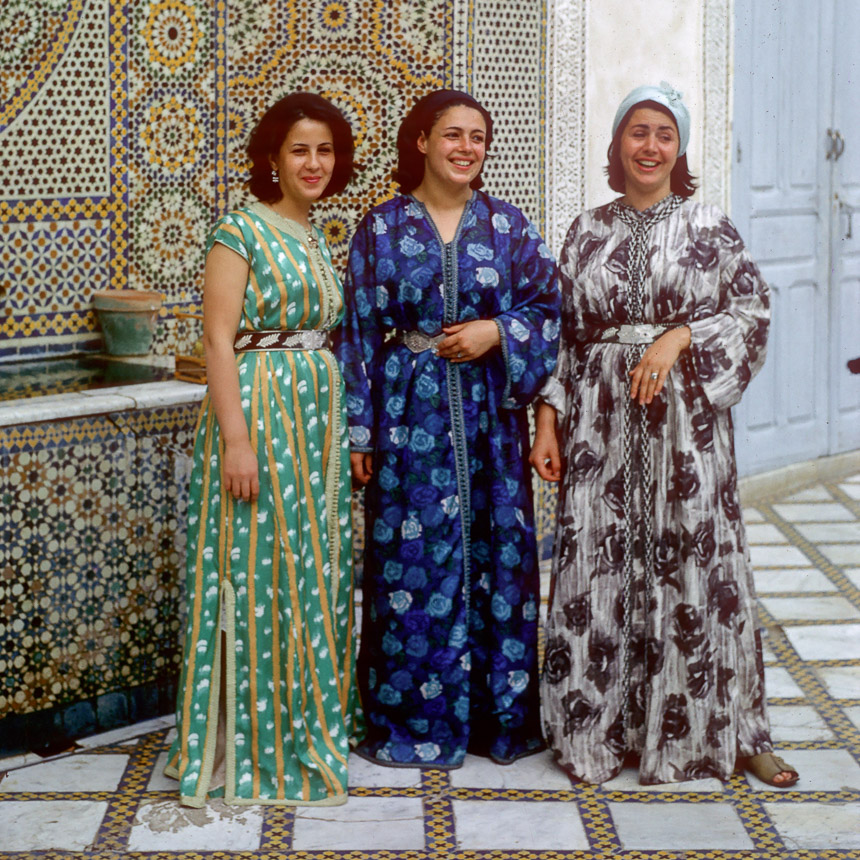 Ladies in the palace