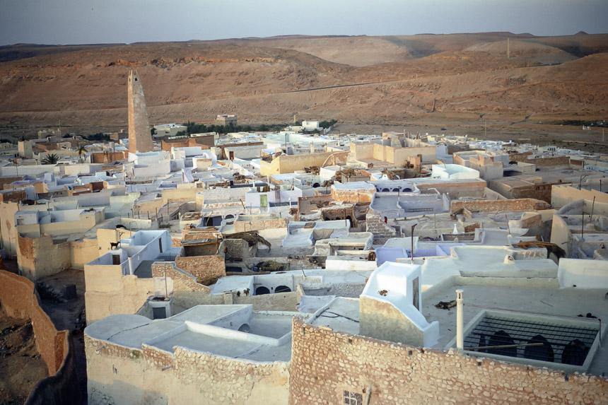 Ghardaia from the air